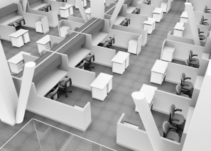 Office Furniture layout